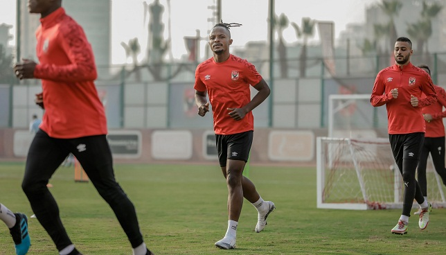 والتر بواليا- النادي الاهلي- الدوري المصري