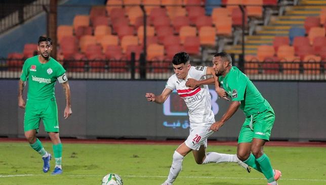 أشرف بن شرقي- نادي الزمالك- الدوري المصري