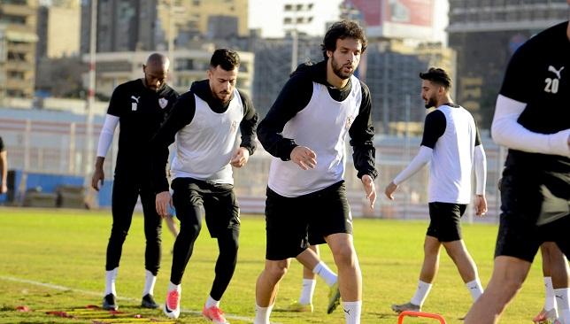 محمود علاء- نادي الزمالك- الدوري المصري