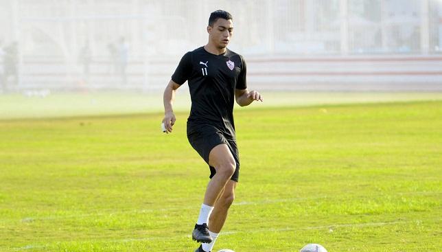 مصطفى محمد- نادي الزمالك- الدوري المصري