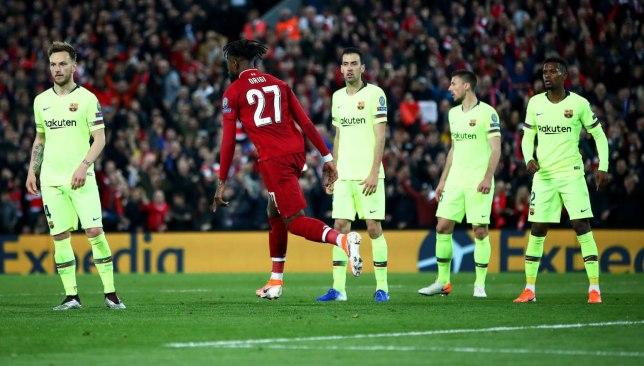 ليفربول ضد برشلونة - دوري أبطال أوروبا