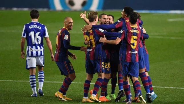 برشلونة ضد ريال سوسيداد – الدوري الإسباني