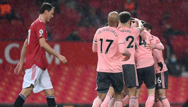 شيفيلد يونايتد ضد مانشستر يونايتد - الدوري الإنحليزي