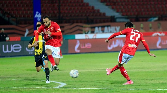 النادي الأهلي والمقاولون العرب - الدوري المصري