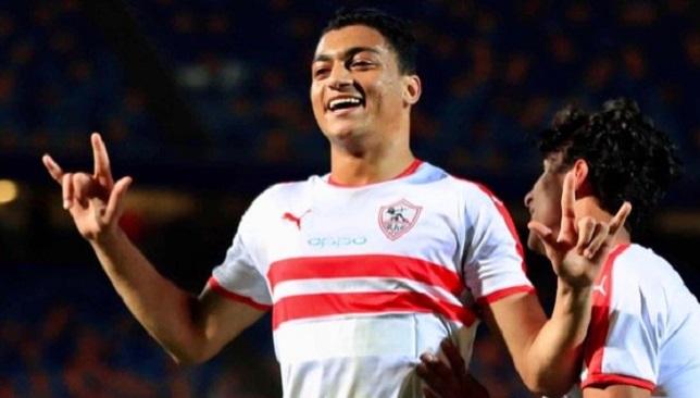 مصطفى محمد - الزمالك - الدوري المصري