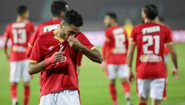 حسين الشحات - لاعب النادي الأهلي