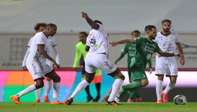 الأهلي والشباب - الدوري السعودي
