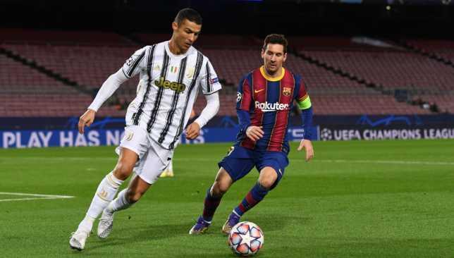 كريستيانو رونالدو ضد ميسي - يوفنتوس ضد برشلونة - دوري أبطال أوروبا