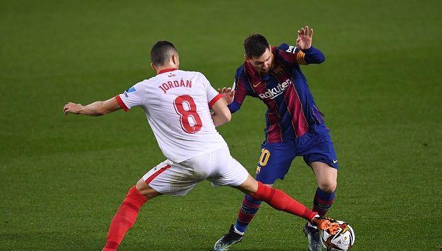 برشلونة ضد إشبيلية - الدوري الإسباني