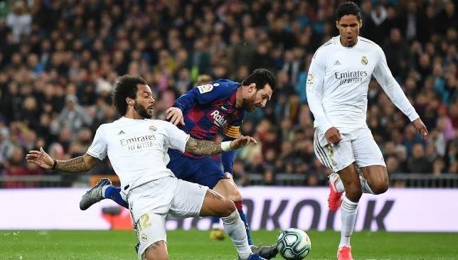 ريال مدريد ضد برشلونة - الدوري الإسباني