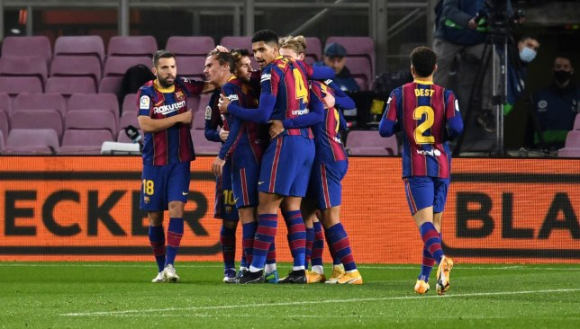 برشلونة - الدوري الإسباني