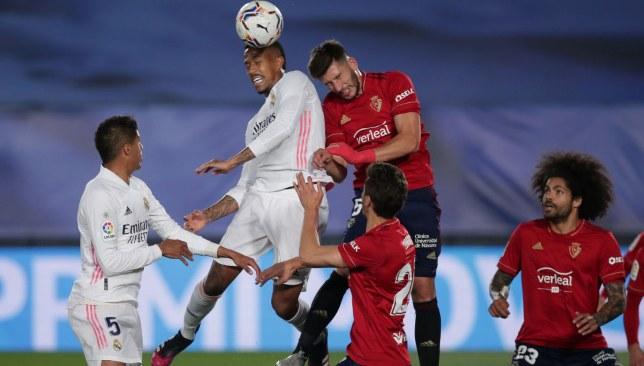 ريال مدريد ضد أوساسونا - الدوري الإسباني