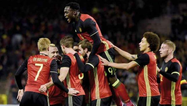 بلجيكا في كأس الأمم الاوروبية 2016