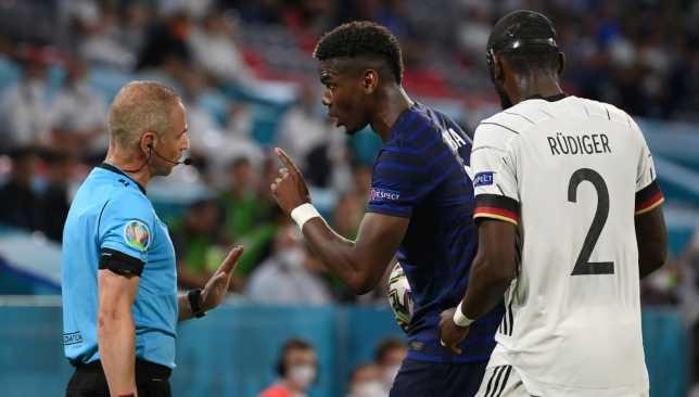 بوجبا - منتخب فرنسا - يورو 2020