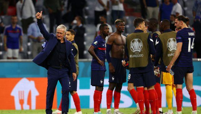 ديشان - منتخب فرنسا - يورو 2020