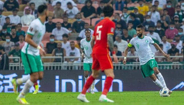ملخص مباراة المنتخب السعودي والصين في التصفيات المؤهلة لكأس العالم 2022