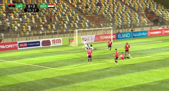 ملخص مباراة المنتخب المصري وليبيا في تصفيات كأس العالم 2022