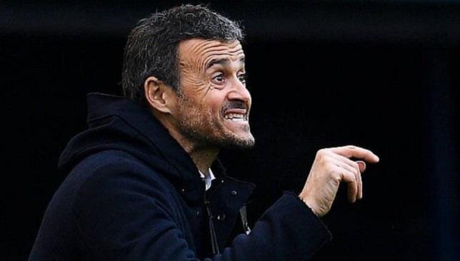لويس إنريكي - منتخب إسبانيا