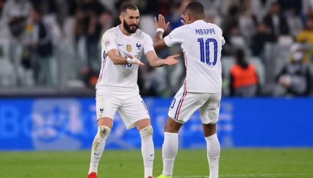 كريم بنزيما - فرنسا - دوري أمم أوروبا