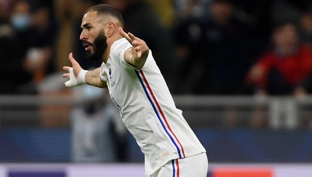 كريم بنزيما - منتخب فرنسا - دوري الأمم الأوروبية
