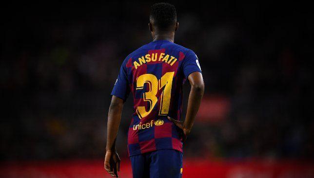 أنسو فاتي – برشلونة – الدوري الإسباني