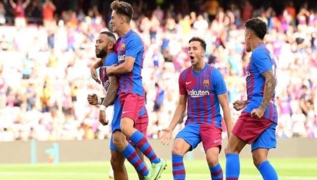 جافي - برشلونة - الدوري الإسباني