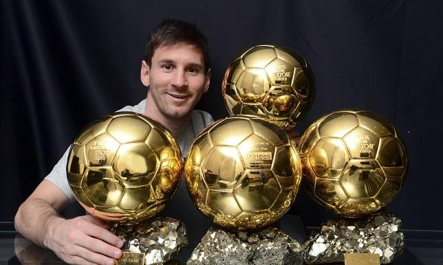 ميسي يضمن الكرة الذهبية الخامسة - سبورت 360 عربية