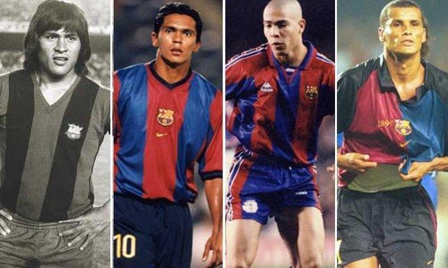 12 لاعباً في تاريخ برشلونة توجوا بكوبا أمريكا - سبورت 360 عربية