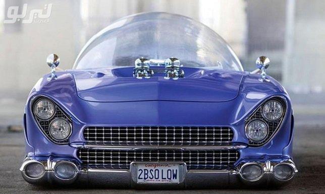صور .. هل هذه أغرب سيارة معدلة على الإطلاق؟ سقفها قبة زجاجية! - سبورت 360 عربية