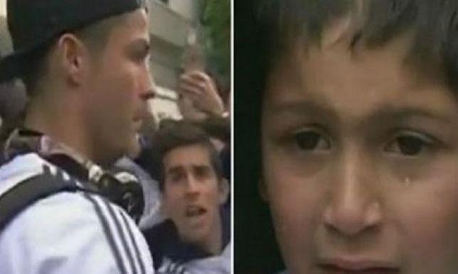 فيديو.. طفل ينهار من البكاء بسبب كريستيانو رونالدو! - سبورت 360 عربية