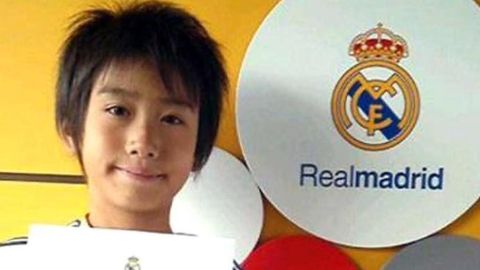 ريال مدريد يتعاقد مع طفل ياباني - سبورت 360 عربية